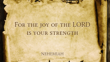 Parchment Scroll Quote